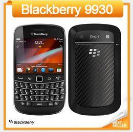 Wholesale Original Blackberry Cell Phone - Unlocked 9930 Original Blackberry Blod Touch 9930 Cell Phone 5.0MP Camera Wifi GPS 3G Mobile Phone Refurbished