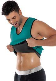 Wholesale Latex Bodysuit For Men - Men Green Latex Body Shaper Wear Plus size 2XL Mens Bodysuit Waist Training Corsets for men roupa interior weight vest cincher