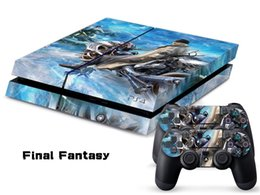 Wholesale Fantasy Decals - Final Fantasy DECAL SKIN PROTECTIVE STICKER for SONY PS4 CONSOLE CONTROLLER