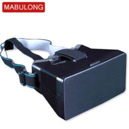 Wholesale Oculos Virtual - Factory Sale ! Google Cardboard Head Mount Plastic Version 3d VR Virtual Reality Glasses Oculos Rift For 4~5.7 Smartphone Q3d01