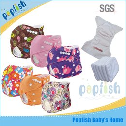 Wholesale Disposable Cloths - Fashion Printed PUL Disposable Diapers China Wholesale Sleepy Cloth Diaper Pants Rusable Washable Baby Love Nappies