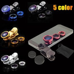 Wholesale S4 Phone Price - Wholesale-Low price 3 in1 Clip phone lens fish eye lens for mobile phone Galaxy note3 4 S4 S5 S6 For iphone4 4s 5 5s 6 plus free shipping