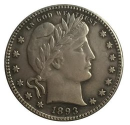 Wholesale Barber Dollars - 1893-O QUARTER DOLLARS BARBER COINS COPY FREE SHIPPING
