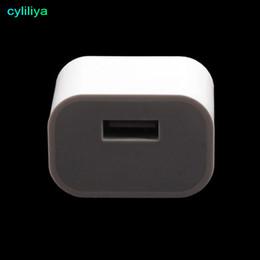 Kleinste iphone ladegerät online-Universal 5V australische AU-Stecker USB-Wand-Ladegerät Reise AC kleine quadratische Netzteil für iPhone 7/6 Plus Samsung