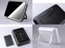 Wholesale Cheap Recording Cameras - cheap v7 Clock mini camera 720*480 spy clock Remote Surveillance Camera Mini Camcorders Recording