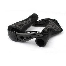 bike bicycle handle grips Coupons - Black Cycling Mountain MTB Bike Bicycle Lock-On Handlebar Cover Handle Grip Bar End