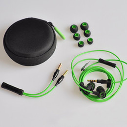Wholesale Pro Earphones - new Razer Hammerhead Pro In Ear Earphone & Headphone goophone iphone s6 With Mic Gaming Headset Noise Isolation Stereo Bass 3.5mm