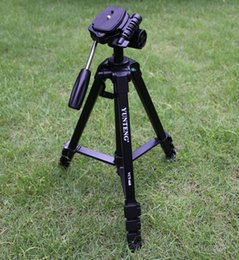 Wholesale Pro Fluid Camera - free shipping -NEW YUNTENG VCT-668 Pro Tripod with Damping Head Fluid Pan for SLR DSLR Canon Nikon +Carrying Bag