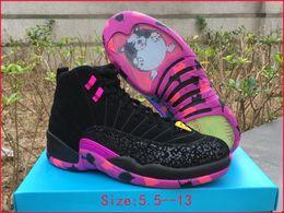 Wholesale Boys Ski Boots - mens air retro 12 doernbecher black db AH6987-023 men boy basketball shoes freestyle 12s womens luxury running shoes women sports sneakers