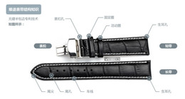Wholesale 16 Mm Strap Steel - Wholesale-Watch Strap Genuine Leather Watches Bands for IWC for victorinox Bracelets Steel Tang Buckle Belt Men 14 16 18 19 20 21 22 - mm