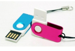 Wholesale Steel Flash Drive - 40pcs lot For 64GB Stainless steel Fine GIFT USB Flash Drive(U Disk 64GB) memory stick Pen drives thumbdrives