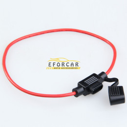 Wholesale fuse auto - Car Inline Fuse Holder Auto Vehicle Water Resistant Wiring Harness ATC   ATO 30AMP Blade Fuse Automotive Fuse Holder