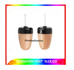 Wholesale Wholesale Earpieces - mini wirless Earpiece FBI Wireless earphone Invisible audio mini headset Mini Earphones for Mobile Cell Phone