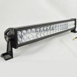 Wholesale Led Driving Lights 4wd - 120W 24 Inch LED car light bar Off Road Light Driving Lamp Combo Beam For Truck SUV Boat 4X4 4WD ATVTractor led light