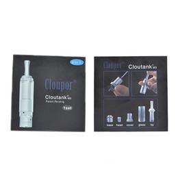 cloupor cloutank m3 vaporizer UK - Best Cloupor Cloutank M3 Atomizer and M3 Dry Herb Vaporizer CC M4 atomizer dhl free ship
