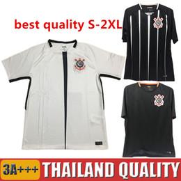 Wholesale Elias Jersey - big size 2XL 2017 Camisa do corinthian Soccer Jerseys Pato Football Shirt 17 18 Elias Gil Malcom Jadson Vagner Love 2018 Home Morbi uniforms