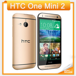 "4.5 touchscreen online-2016 original htc one mini 2 qual core 4,5 ""touchscreen 16 gb speicher 13 mp kamera wifi gps 4g lte android handy"