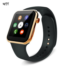Wholesale Iphone Heart Camera - New Smart Watch A9 For Apple iPhone And Android Smart Phone with Heart Rate Smart Watch Relogio Inteligente Reloj Bluetooh Watch