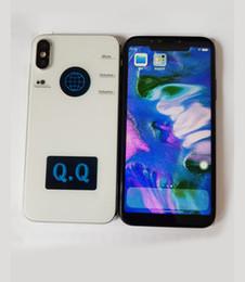 Wholesale Unlocked Cell Phones Tv - Unlocked Goophone X iX i8 plus 5.5inch MTK6580A Show Octa Core 1G RAM 16G ROM 8.0MP Camera Show 64GB 256GB cell phones