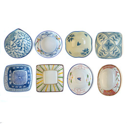Wholesale Ceramic Dessert Bowls - Wholesale-Cute Bowl Cup Dessert Seasoning Sauce Container Soup Baby Bowl Ceramic Tableware