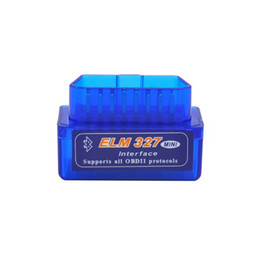 Wholesale Ford Brand Cars - Newest Version Auto Diagnostic Interface Super Mini Bluetooth ELM327 V2.1 OBD2 Scanner Tool For Multi-brands CAN-BUS Car Code Adapter WI57