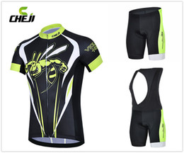 Wholesale Jersey Mountain Bike Size Xs - Wholesale-Individuality 2015 Wasp Cycling Jerseys Ropa Ciclismo Breathable Bicycle Clothing Quick-Dry GEL Pad Mountain Bike Bib Shorts man