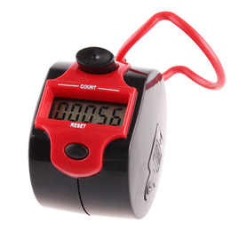 Wholesale Desk Tally Counter - Electronic 2014 New LCD Display Screen 5 Digital Numbers Stainless Desk & Chrome Hand Held Tally Counter