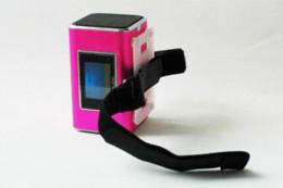 Wholesale Nizhi Tt6 Portable Mini Speaker - TT6 NiZHi USB Mini Portable Speaker, Digital Sound Box For iphone 5 Mp3 player, FM Clock Function