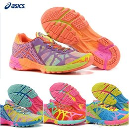 Wholesale Cheap Lightweight Running Shoes - Cheap Asics Cushion Gel-Noosa Tri 9 Sports Running Shoes For Women, Lightweight Racing Trainer Blue Pink etc Sneakers Eur Size 36-40