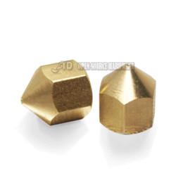 Argentina Accesorios de impresora 3d 0.3 / 0.4mm extrusora boquilla de cobre cabeza de impresión de cobre para reprap prusa (3 unids / lote) accesorios yaris Suministro