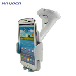 Wholesale S3 Sale - Hot Sale Suction Styling Car Windshield Phone Stands Mount Holder for iPhone 4S 5S 5G for Galaxy S3 S4 GPS