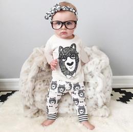 Wholesale Sleepwear T Shirts Cotton - Boys Sleepwear Set Toddler Baby Boy Girls Tops T-shirt+Pant Outfit Set Sleepwear Pajamas Clothing 2016 Spring Children Clothing Kids clothes