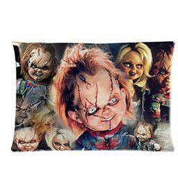 Wholesale Horror Cases - Custom Pillowcase Horror Film&Child's Play Chucky Doll Best 20x30 Inch Pillow Cases