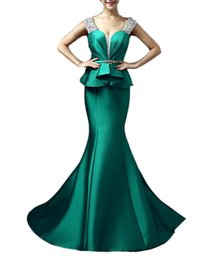 Wholesale Brilliant Trumpet - Emmani Gorgeous Long Mermaid Trailing Spaghetti Brilliant Formal Occasion Special Evening Gown Prom Dresses Lace-up Hot Sale Whole Fall 2016