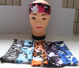 New arrival Outdoor cycling sports headband anti-glissement grip headbands keep your eyes on the prize camo headband от