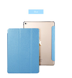 "Wholesale Mini Pad Cover - New Leather Cover For Apple Air 2 Tablet PC Case Smart Accessories Luxury Case For Apple Pad 2 3 4 mini 4 Case for pro 9.7"" Shockproof Stand"
