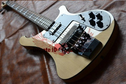 Wholesale Natural Electric Bass - New Arrival Natural 4 Strings 4003 Electric Bass Black Hardware High Quality Cheap