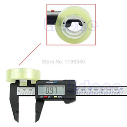 Wholesale Digital Lcd Caliper Vernier Gauge - A25 hot-selling 150mm 6inch LCD Digital Electronic Carbon Fiber Vernier Caliper Gauge Micrometer free shipping T0009-1