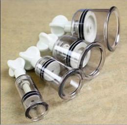 Wholesale Nipple Cupping - Twist Suction Cupping Nipple Enhancer - 4 Sizes!- enlarger vacuum bondage fetish
