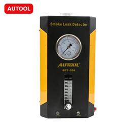 Wholesale Audi Pipe - AUTOOL SDT206 Auto Smoke Detector AUTOOL SDT-206 Smoke Leak Detector of Pipe Systems except EVAP Auto Smoke Tester