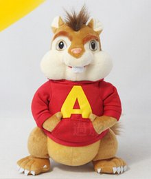 Wholesale Red Plush Teddy Bear - Wholesale-Free Shipping alvin and the chipmunks plush soft doll stuffed plush