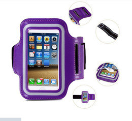 Wholesale Sport Case Iphone5 - 2016 New Waterproof Sports Running Armband Case Workout Armband Holder Pounch Case For iphone 6S 6spus iphone6 6plus iphone5 5G 5S iphone4G