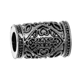 "Wholesale Magnetic Clasp 19mm - Magnetic Clasps Cylinder Antique Silver Pattern Carved 19mm(6 8"")x 13mm(4 8""),3 Sets 2015 new"