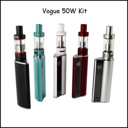 Wholesale Christmas Promotion Genuine Amigo Vogue W Full Kit with mAh Vogue W Box Mod and ml Mini Riptide Tank