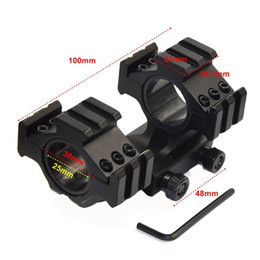 1 adet Çift Halka 25mm / 30mm El Feneri kapsam için taktik avcılık bağlar 21mm Picatinny - LD54 cheap 25mm ring mount nereden 25 mm halka montaj tedarikçiler