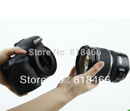 Wholesale Tracking Shipping Ef - tracking number free shipping 1pcs lot 58mm Macro Reverse lens Adapter Ring for CANON EOS EF Mount 550d 650d 60d A5