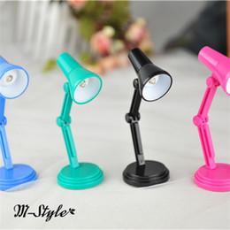 Wholesale Toy Super Miniatures - Wholesale-M-style Blythe Super Dollfie SD DD 1 3 Bjd Doll Miniature Mini Desk Lamp 4Colour