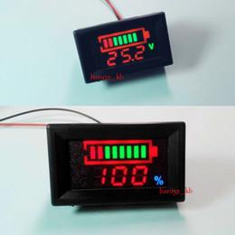 Wholesale Number Indicator - LED Indicator Battery capacity Tester voltmeter 12V 24v 36 48V Lead-acid Lithium Free shipping   tracking number A3