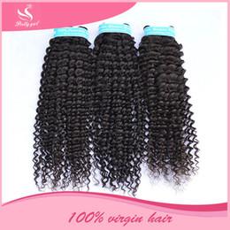 Wholesale Eurasian Human Hair Weave - Cambodian Virgin Hair Deep Wave Curly Unprocessed Brazilian Eurasian Mongolian Indian Peruvian Malaysian Human Hair Weaves DHL Free Shipping