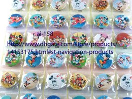 Wholesale Kids Novelty Backpacks - 20 sheets 960 pcs Novelty Cartoon Backpack Accessories Mickey Mouse Minnie Badges Kid Cartoon Badges,Kids Gifts Wholesale,
